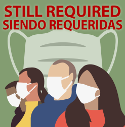 Face coverings still required in all healthcare settings